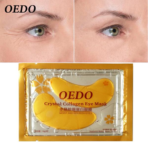 OEDO Miếng dán mắt chăm sóc da mắt collagen tinh thể vàng chống lão hóa Kem chống bọng mắt dạng vòng tròn tối màu chống bọng mắt giá rẻ