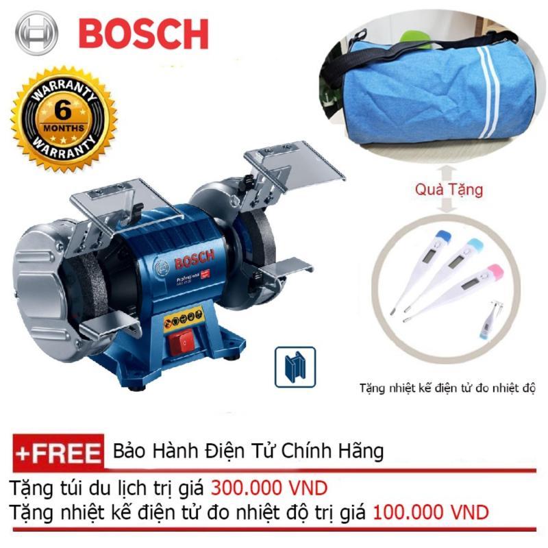 Máy mài bàn Bosch GBG 35-15 350W + Quà tặng balo du lich