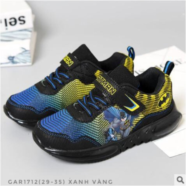 Giày thể thao bé trai siêu nhân Batman GAR1712 giá rẻ