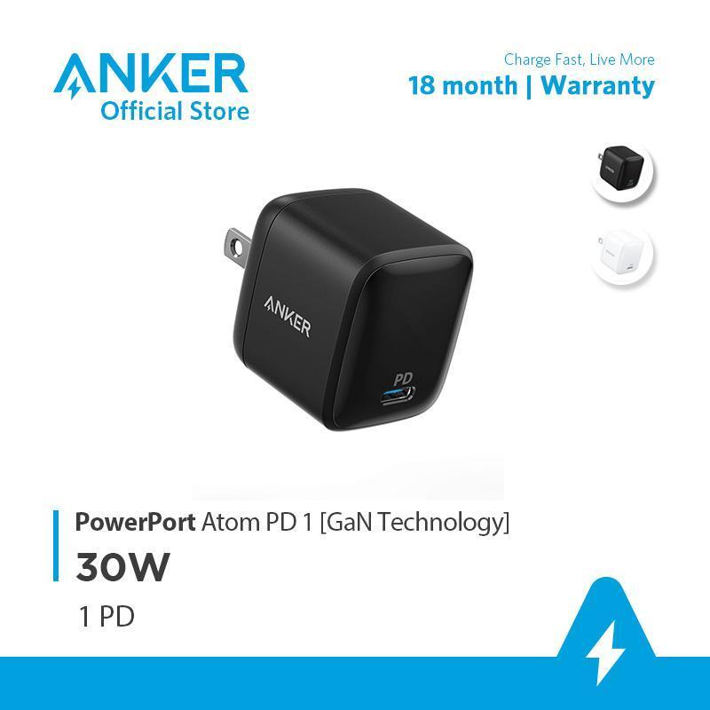 Giá Sạc ANKER PowerPort Atom PD 1 cổng 30W [GaN Technology] - A2017
