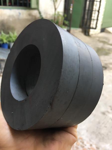 Bảng giá Nam Châm Đen Ferrite Ø 100x45x15mm – Nam Châm Hình Nhẫn - Nam Châm Loa