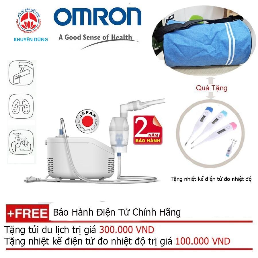 Máy Xông Mũi Họng Omron NE-C101 + Quà tặng balo du lịch