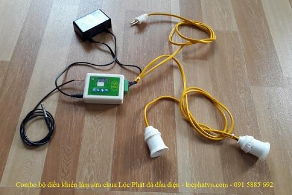 Combo bộ điều khiển làm sữa chua Lộc Phát - đã đấu điện
