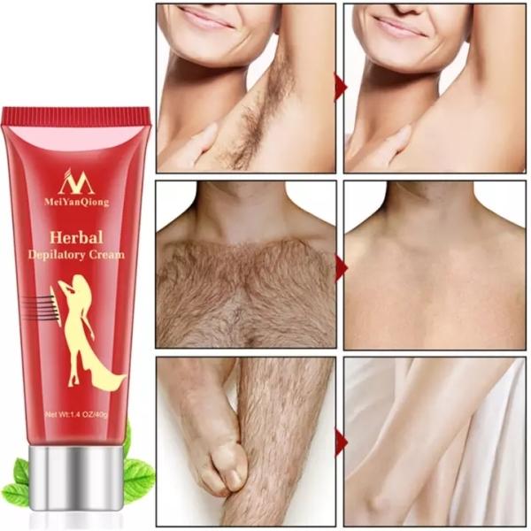 MeiYanQiong Kem tẩy lông thảo dược 40g dành cho nam nữ tẩy lông nách tay cao cấp