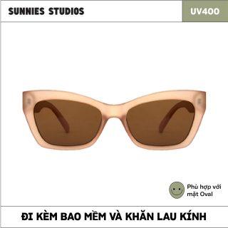 Kính mát Sunnies Studios Gọng Mắt Mèo Lexa in Ginger thumbnail