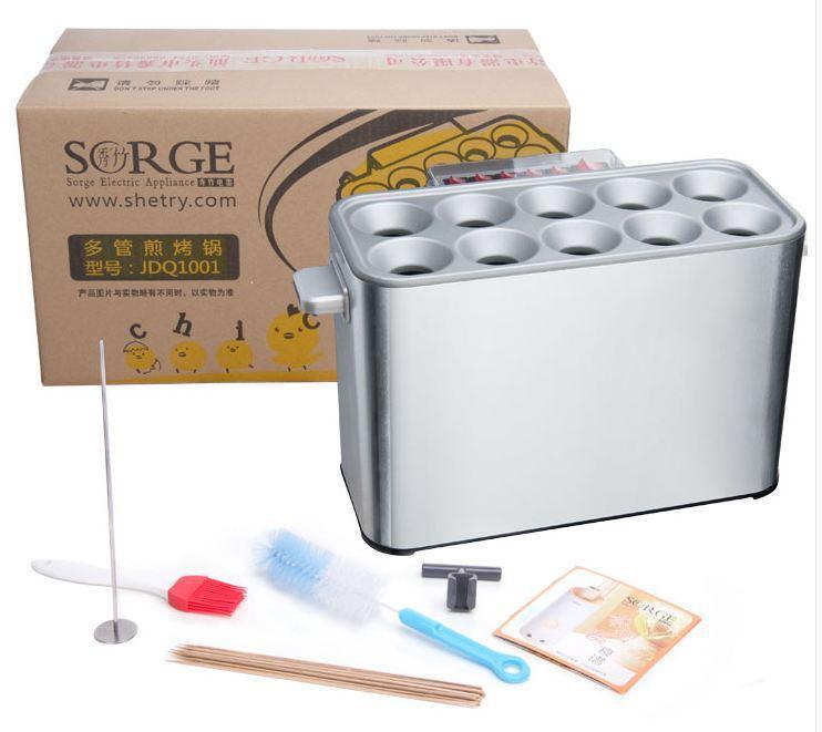 Máy làm bánh trứng cuộn dùng điện