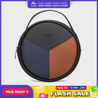 Túi đeo chéo nữ thời trang đa năng YUUMY YN45 chất liệu da tổng hợp cao cấp mềm mại, bền đẹp, dễ dàng vệ sinh thumbnail
