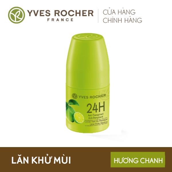 Lăn Khử Mùi Yves Rocher 24h Anti Perspirant Lime From Mexico 50ml nhập khẩu