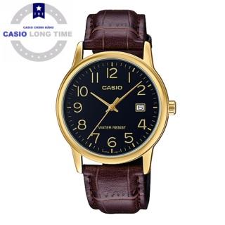 Đồng hồ nam Casio MTP-V002GL-1BUDF dây da chính hãng thumbnail