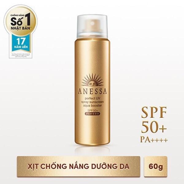 Xịt chống nắng bảo vệ hoàn hảo Anessa Perfect UV Sunscreen Skincare Spray SPF50+, PA++++ 60g