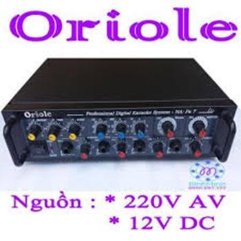 AAMLI ORIOLE MINI PA7 dùng điện  220V hoặc ắc quy 12v
