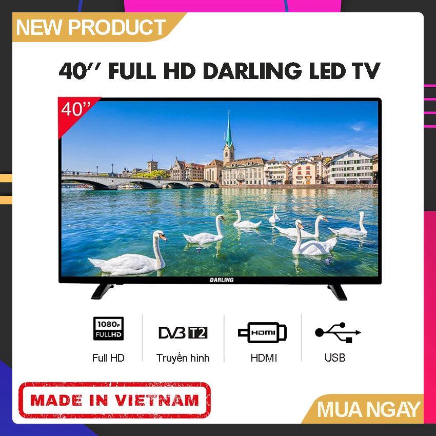 Bảng giá Tivi Led Darling 40 inch Full HD - Model 40HD957T2 (Full HD, Tích hợp DVD-T2) - Bảo Hành 2 Năm