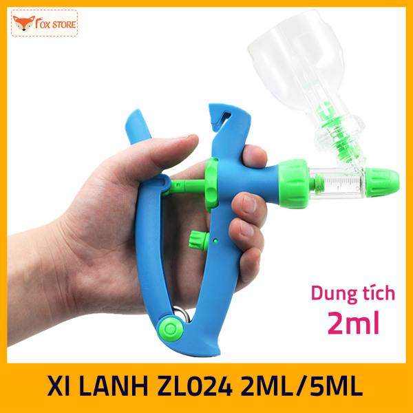 Xi Lanh tự động tiêm liên tục ZL024 2ml/5ml (Tiêm vắc xin cho gia súc, gia cầm…)