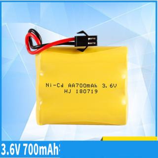 Pin sạc Ni-cd 3.6v 700mah đầu nối SM cho xe mô hình điều khiển thumbnail