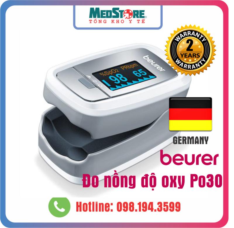 Máy đo nồng độ oxy trong máu SPO2 Beurer PO30 - TBYT Medstore bán chạy