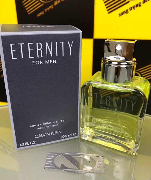 Nước Hoa CHÍNH HÃNG Eternity For Men - Calvin Klein. Eau De Toilette. Mùi Nam Nhưng Nữ Vẫn Sứt Được. 100ml. Sản Xuất Tại Pháp.