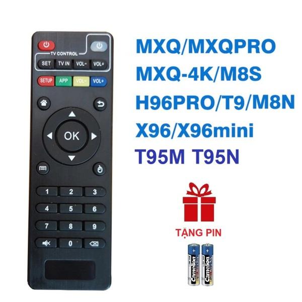 Remote điều khiển ANDROID TV BOX T95M T95N M8S M8N M8C M12 MXQ 4K Pro H96 X96 MINI TIVI BOX (HÀNG XỊN - Tặng pin)