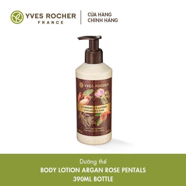 Sữa Dưỡng Thể Yves Rocher Argan Rose Petals Body Lotion 390ml nhập khẩu