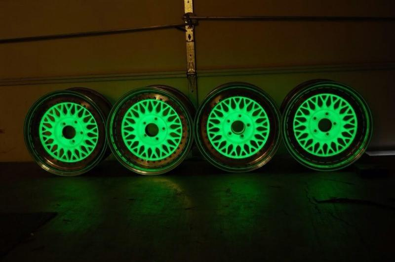 Sơn phát sáng trong tối-Sơn Dạ Quang( Phosphorescent) Bosny