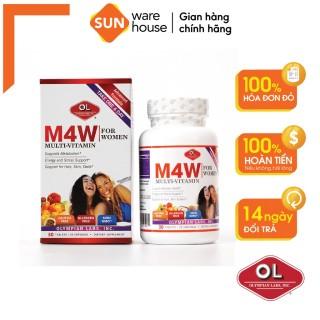 M4W Multi-Vitamin For Women Bổ sung Vitamin và Khoáng chất cho Nữ giới thumbnail