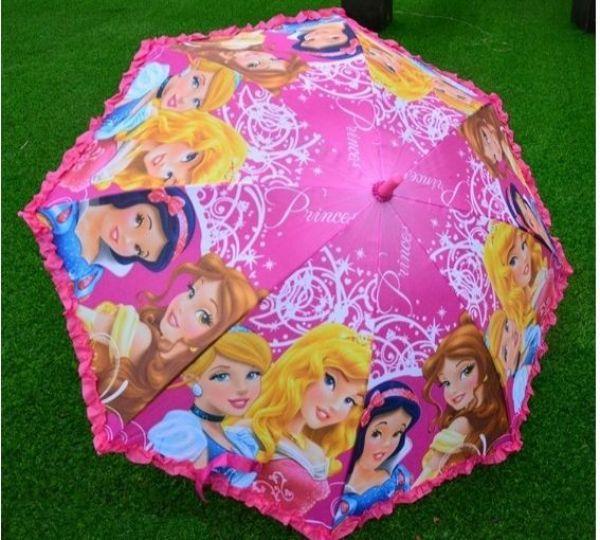 Giá bán Ô che nắng che mưa hình công chúa siêu nhân cho bé
