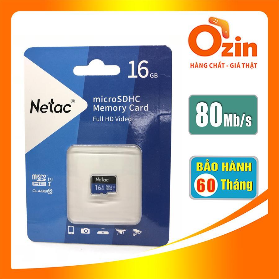 Thẻ nhớ Micro SD Netac 16GB Full HD