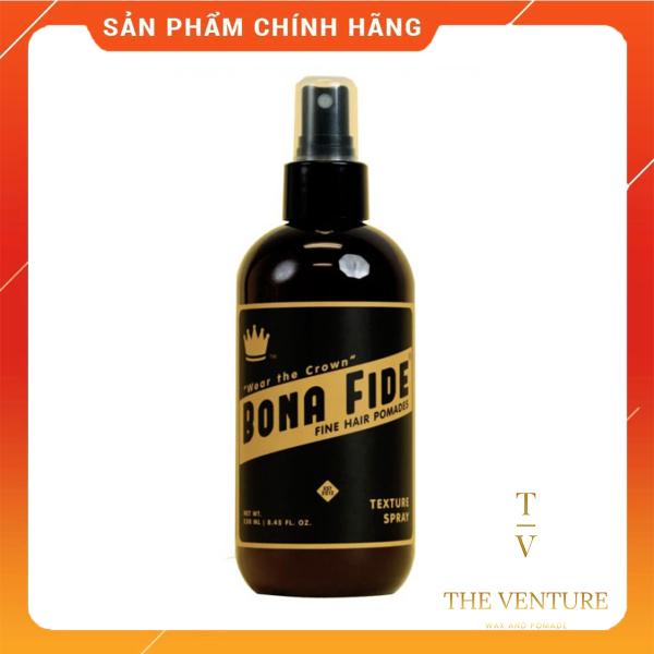 Chai Xịt Tạo Phồng Giữ Nếp Bona Fide Chính Hãng - Pre-Styling Bona Fide Texture Spray 250ml cao cấp