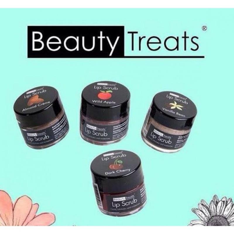 Son Tẩy Tế Bào Chết Môi Beauty Treats Lip Scrub 10,5g    Vanilla Bean - Vani