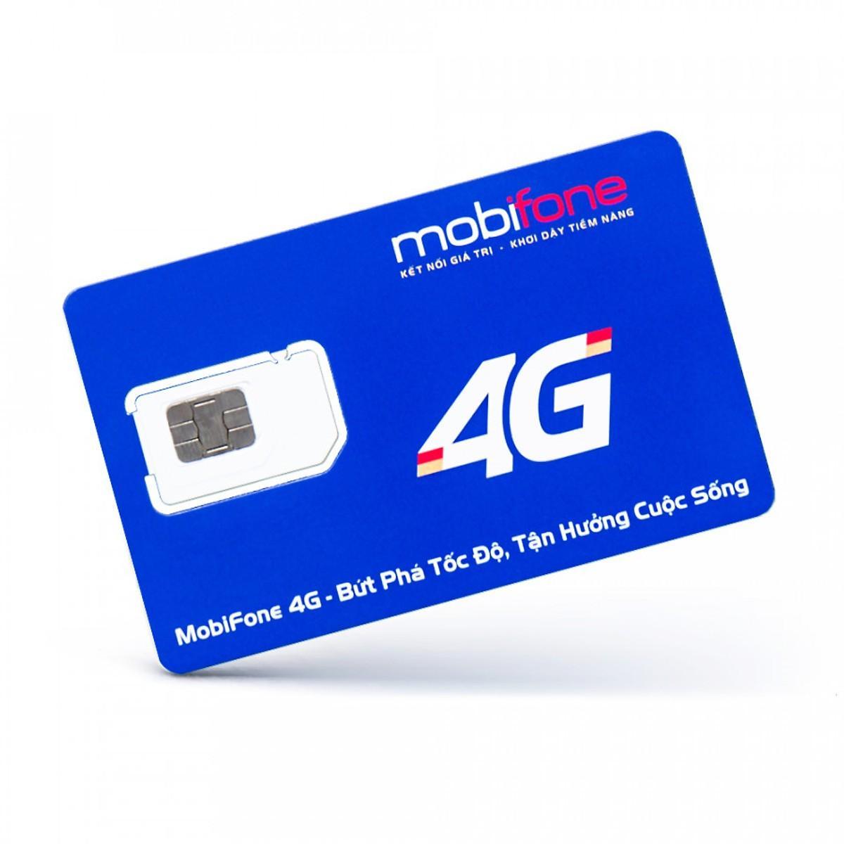 Giá Sim 4G 10 số Mobifone C90N Mỗi tháng Tặng 120GB +1000p nội mạng +50p ngoại mạng.Chỉ với 90k/tháng