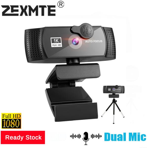 Bảng giá Webcam 1080P/2K Tự Động Lấy Nét USB Camera Web 3 Triệu Pixel 30 Khung Hình/Giây Có Mic Cho Máy Tính Để Bàn Máy Tính Xách Tay Phong Vũ