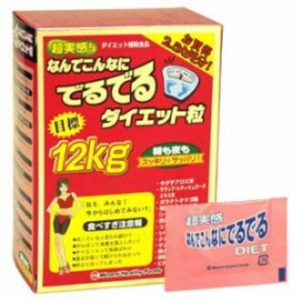 Viên Uống giảm cân 12kg Minami Healthy Foods Của Nhật Bản hộp 75 gói cao cấp