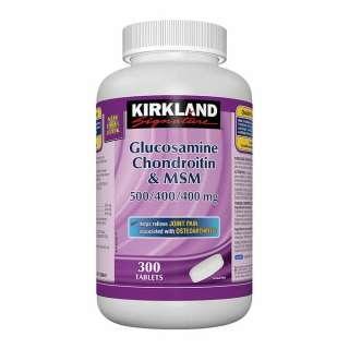 Thuốc Glucosamine & Chondroitin and MSM Kirkland cho người lớn tuổi thumbnail