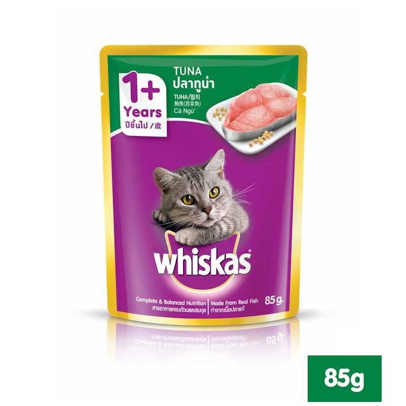 Pate Whiskas cho mèo - Gói 85g