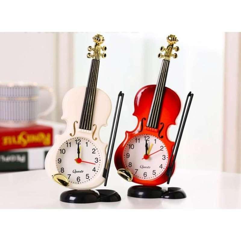 Nơi bán Đồng hồ để bàn hình cây đàn Violin ( chức năng báo thức siêu lớn )
