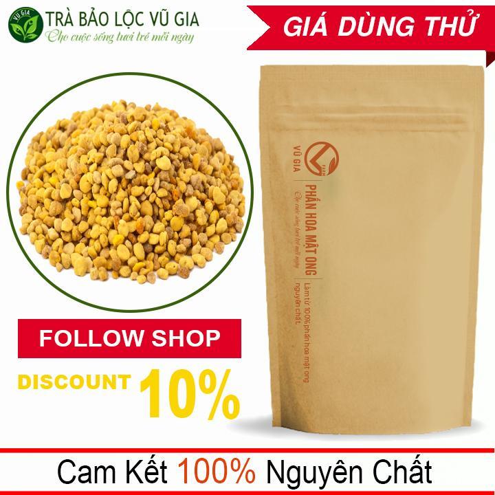 Phấn Hoa Mật Ong Nguyên Chất VG Farm (50g/túi) - Tăng cướng sinh lực, sức đề kháng_[ Đã được kiểm nghiệm y tế ]