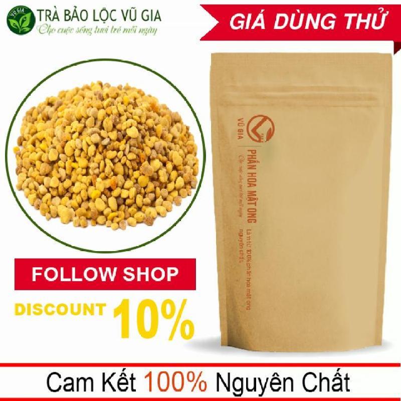 Phấn Hoa Mật Ong Nguyên Chất VG Farm (50g/túi) - Tăng cướng sinh lực, sức đề kháng_[ Đã được kiểm nghiệm y tế ] cao cấp