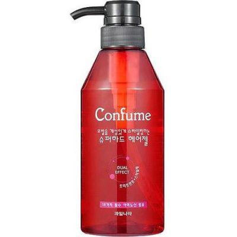 Gel vuốt tóc đặc siêu cứng (Hàn Quốc) Confume super hard hair gel 400ml nhập khẩu