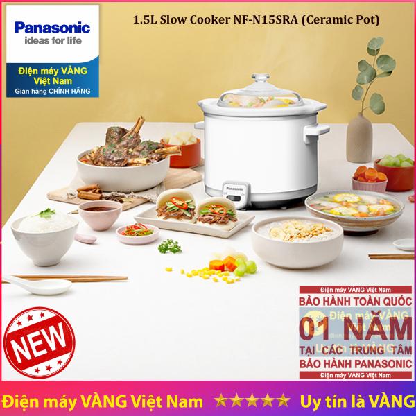 Nồi nấu chậm hầm thực phẩm Panasonic NF-N15SRA 1.5 lít