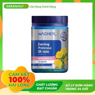 Viên Uống Tinh Dầu Hoa Anh Thảo Wagner Evening Primrose Oil 1000mg 200 Viên - Greenoly Việt Nam phân phối chính hãng thumbnail