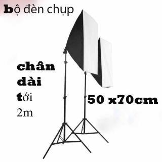 Bộ Đèn Chụp Ảnh Sản Phẩm Chân Đèn 2m Kèm Softbox 50x70 Hỗ Trợ Sáng, Có Thể Mua Kèm Bóng 150W thumbnail