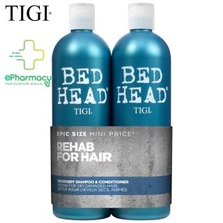 Cặp Gội Xả TIGI BED HEAD Recovery xanh dương phục hồi tóc level 2 cho tóc khô hư tổn 750MLx2 thumbnail