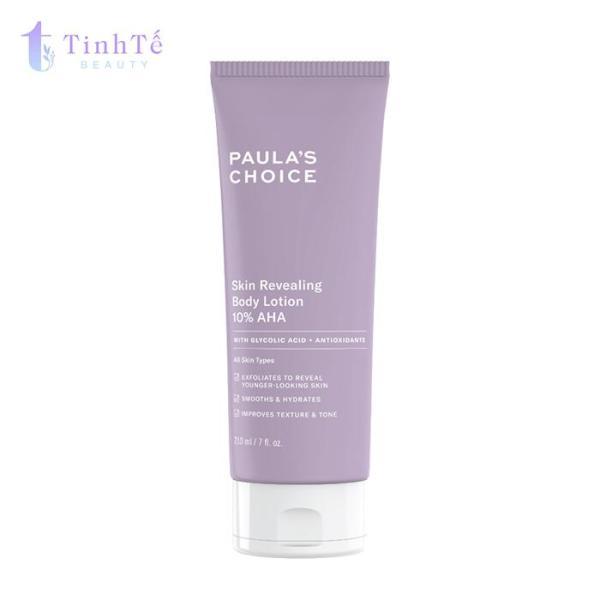 Kem dưỡng thể Paulas Choice Resist Skin Revealing Body Lotion with 10% AHA 210ml cao cấp