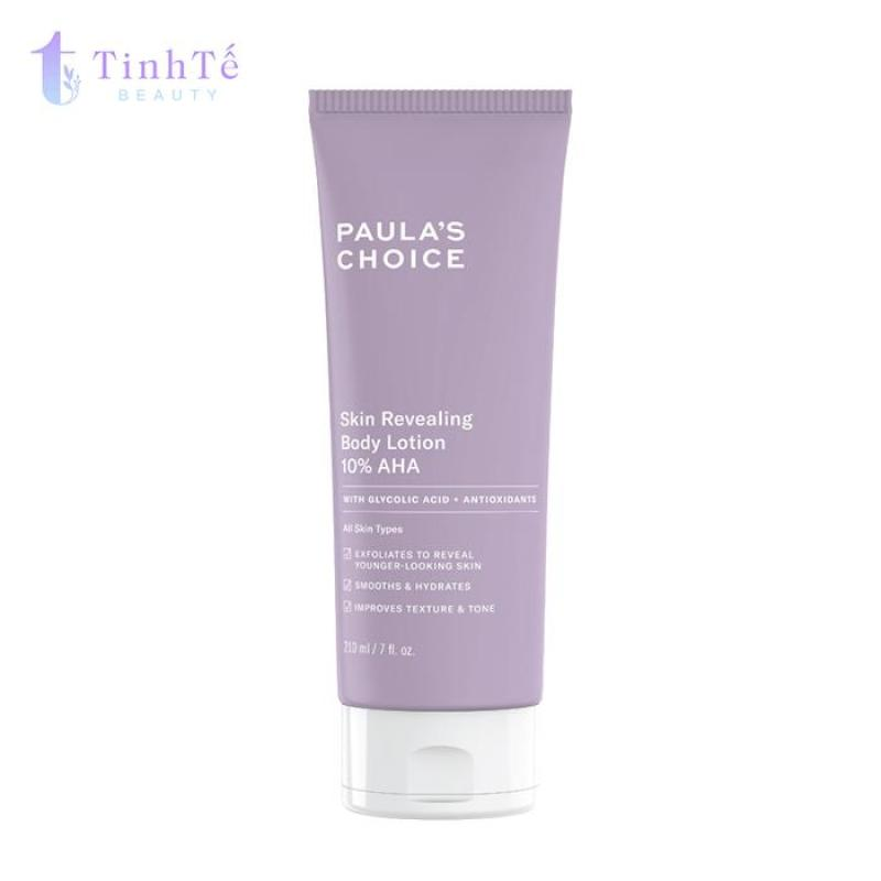 Kem dưỡng thể Paulas Choice Resist Skin Revealing Body Lotion with 10% AHA 210ml