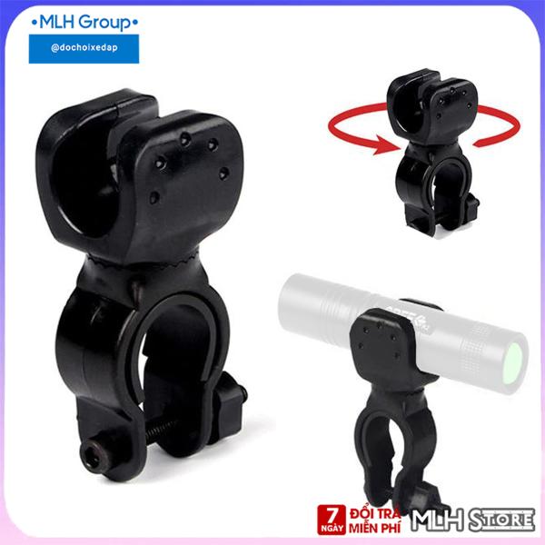 Chân đế kẹp đèn pin, đèn pha gắn ghi đông MLH cho Xe Đạp (không kèm đèn pin)