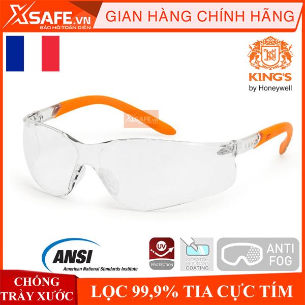 Giá bán Kính bảo hộ Kings KY2221 Mắt kính chống bụi - chống trầy xước - chống tia UV - bám hơi nước - mắt kính bảo hộ lao động