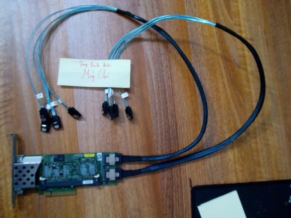 Bảng giá card raid HP P410 hỗ trợ ổ 10TB sử dụng trên máy tính PC thường, Máy trạm và máy chủ chuyên dụng Phong Vũ