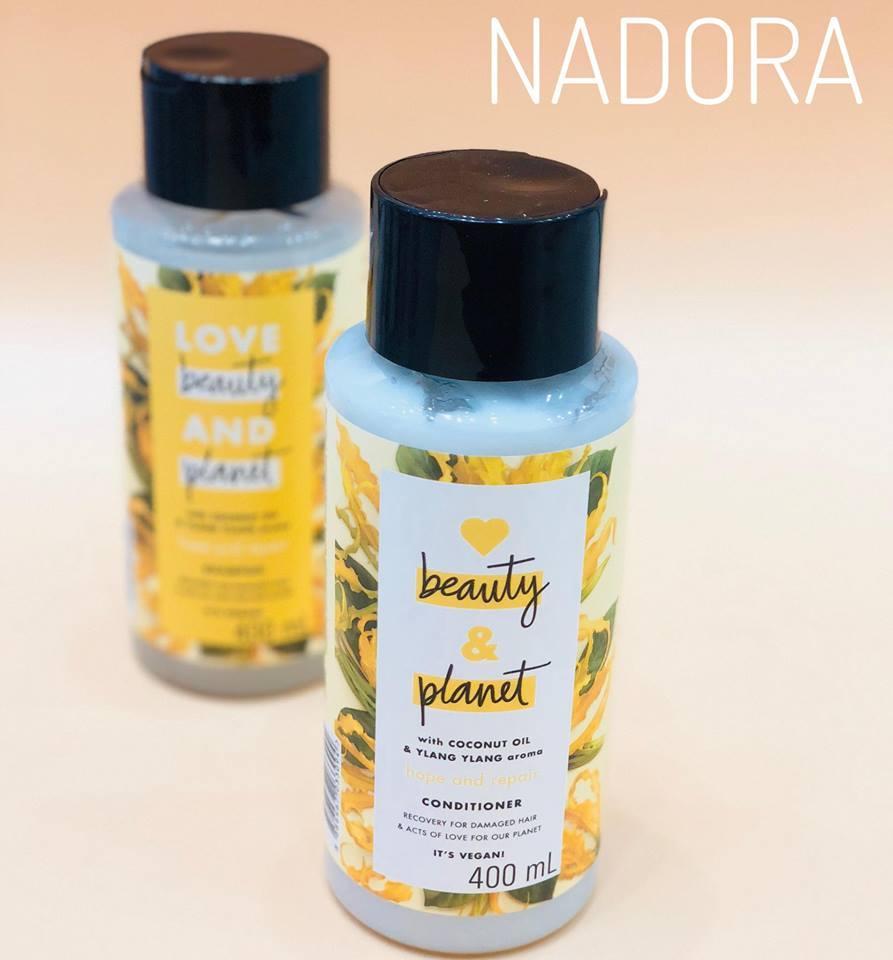 Dầu xả  giúp phục hồi tóc hư tổn Love Beauty And Planet - Hope And Repair nhập khẩu
