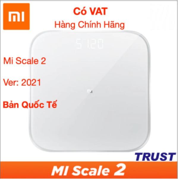 [HCM] PHIÊN BẢN QUỐC TẾ - HÀNG NHẬP KHẨU CHÍNH HÃNG - Cân Điện Tử Thông Minh Xiaomi Mi Smart Scale Gen 2 – Bác Sĩ Gia Đình Trợ Lý Sức Khỏe - Version 2020 cao cấp