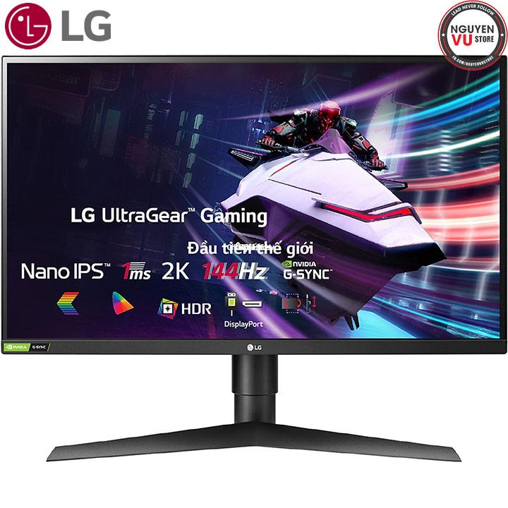 Màn Hình Gaming LG UltraGear 27GL850-B 27 inch WQHD 2560 x 1440 1ms 144Hz Nano IPS NVIDIA G-Sync FreeSync HDR 10