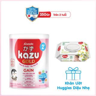 [Tinh tuý dưỡng chất Nhật Bản] Sữa bột KAZU GAIN GOLD 350g 2+ thumbnail